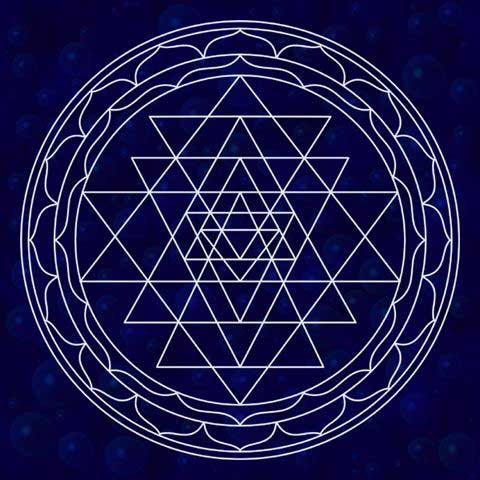 Sri Yantra for material and spiritual wealth.