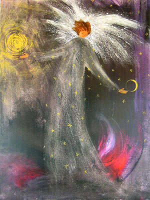Dusk (My Sun/Moon Angel) :: Used by permission from her creator Judith Greenwood