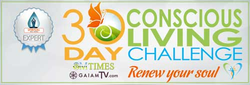 OM Times 30 Day Conscious Living Challenge - Spiritual Expert Patti Foy